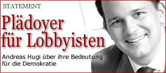 Pldoyer fr die Lobbyisten