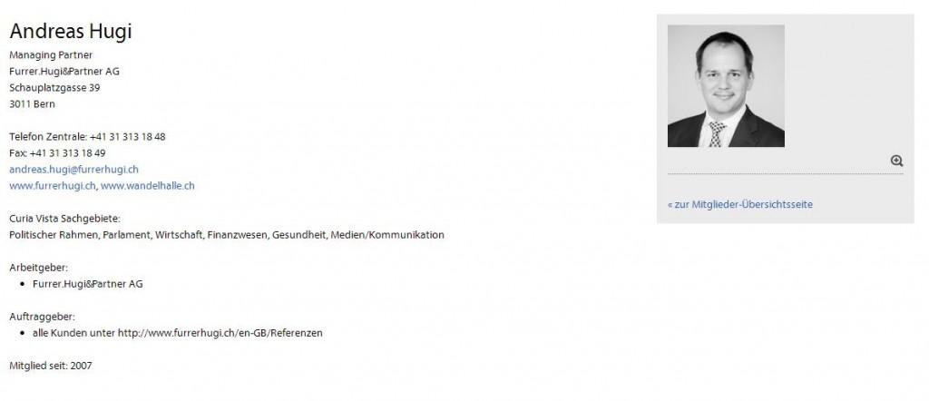 Printscreen der SPAG-Mitgliederinformationen des Blogautors.