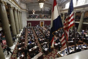 The Missouri House began the 2016 legislative session Wednesday in Jefferson City. File photo by Orlin Wagner The Associated Press